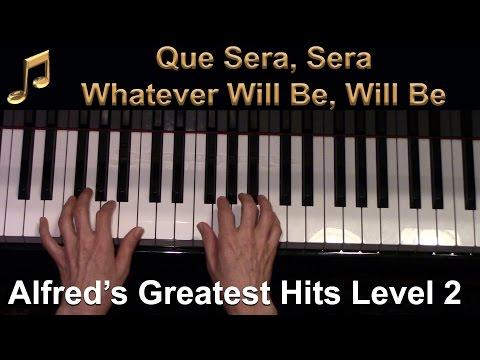 Que Sera, Sera (Whatever Will Be, Will Be) (Early-Intermediate Piano Solo)