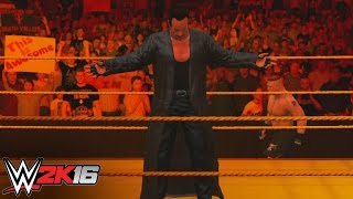 Hellfire and Brimstone for The Deadman: WWE 2K16 Entrance Mashups