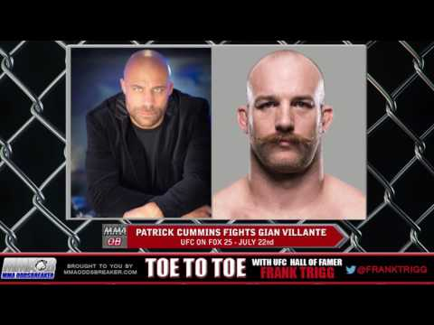 Frank Trigg pre-fight interview with UFC on FOX 25's Patrick Cummins