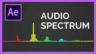 كيفية إنشاء رد الفعل الطيف الصوت في برنامج Adobe After Effects CC التعليمي