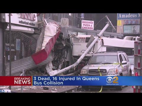 Bus-Verus-Bus Crash Kills 3, Hurts Dozens