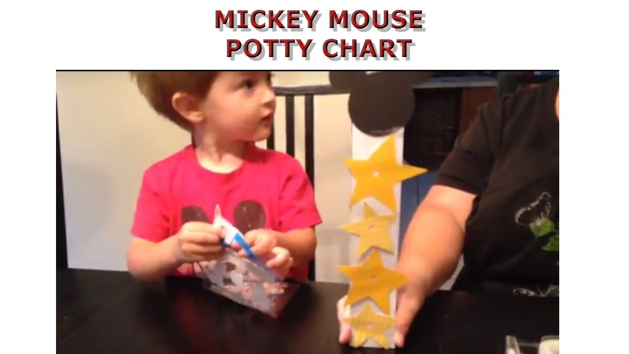 mickey mouse potty chart youtube