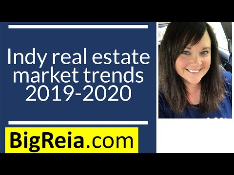 The Indiana real estate marketing stats in 2019-2020, real estate investor research.