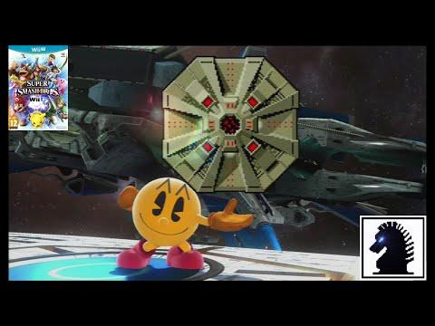 Wii U Super Smash Bros - Classic - Pac-Man