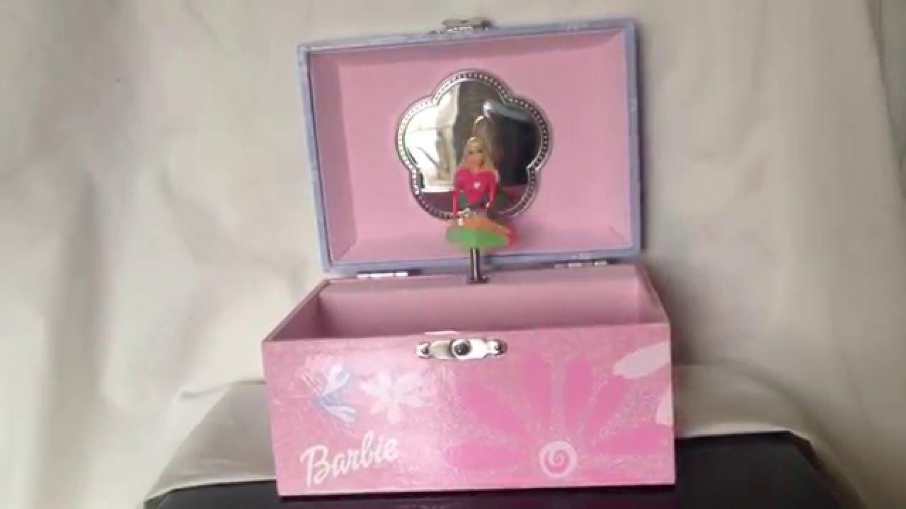 Beautiful Dreamer Barbie Jewelry Box YouTube