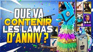 Fortnite News: What do Year 2 Birthday Lamas contain? - ( Saving the World)