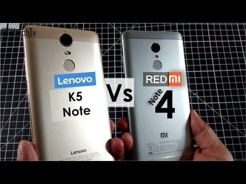 Redmi Note 4 vs Lenovo K5 Note | Battery, Camera, Gaming, Design& Build, Sound
