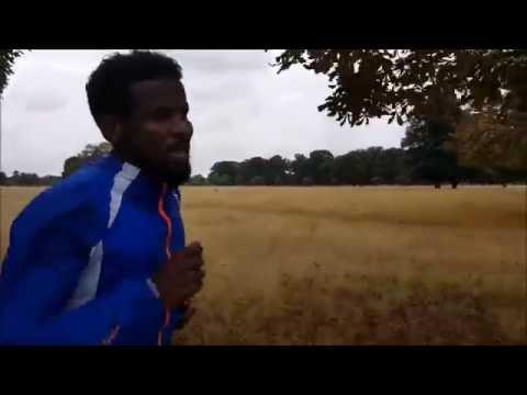 CHASING ELIUD KIPCHOGE | Sayed's Training Run | Berlin Marathon Elite Line Up