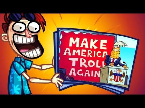 Troll Face Quest USA Adventure 2 - All Levels Gameplay Walkthrough