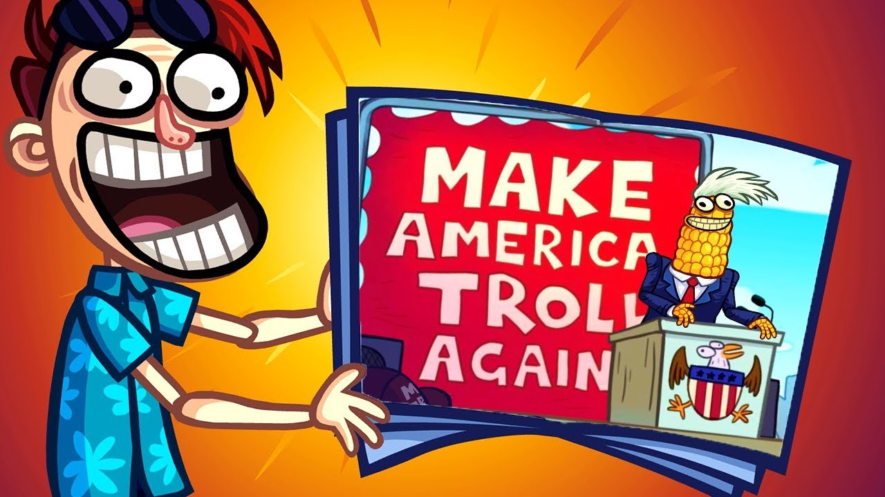Troll Face Quest USA Adventure 2 - All Levels Gameplay Walkthrough