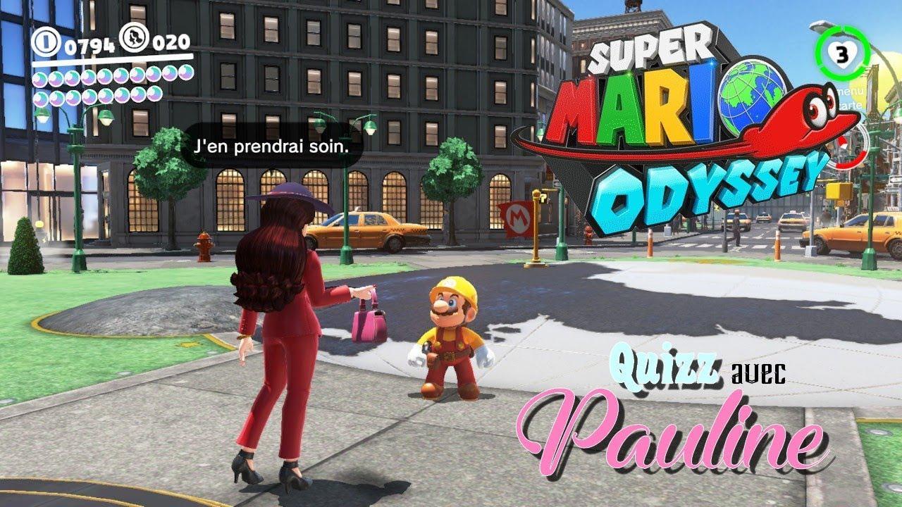 Super Mario Odyssey Comment Repondre Au Questionnaire De