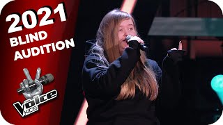 Muse - Starlight (Jessica) | The Voice Kids 2021 | Blind Auditions