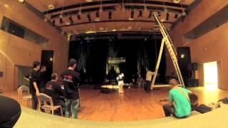 """preparation of CD presentation Pınar Dönmez """"Hayata Evet"""" (02.11.2013) in ENKA Kültür Sanat"""