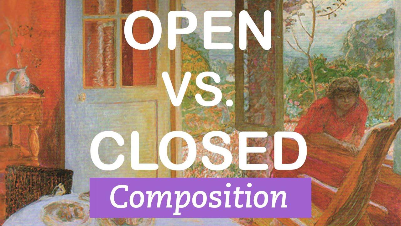 Monday Minute: Open vs. Closed Composition - Art Terms Explained ...