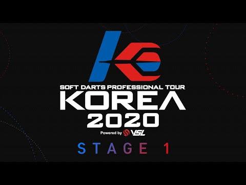 [LIVE] SOFT DARTS PROFESSIONAL TOUR KOREA 2020 STAGE1 Powerd By VSL