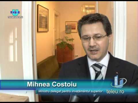 TeleU: Mihnea Costoiu, ministrul delegat pentru Invatamantul Superior si Cercetare, la Timisoara