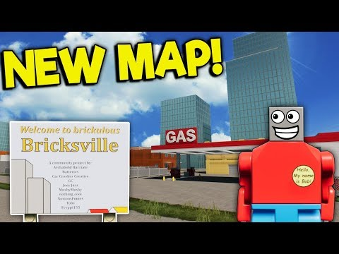 BRAND NEW LEGO CITY MAP UPDATE! - Brick Rigs Roleplay Gameplay - New Bricksville Map