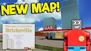 BRAND NEW LEGO CITY MAP UPDATE! - Brick Rigs Roleplay Gameplay - New Bricksville Map