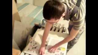 Укладка плитки по диагонали. Как упростить подрезку.wmv(Подрезка плитки без использования измерительных инструментов., 2012-03-31T21:20:58.000Z)