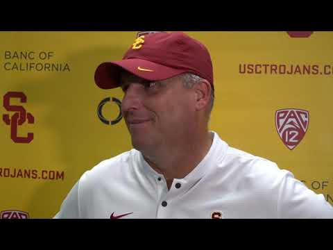 USC Football - Coach Helton UCLA Post Game Presser