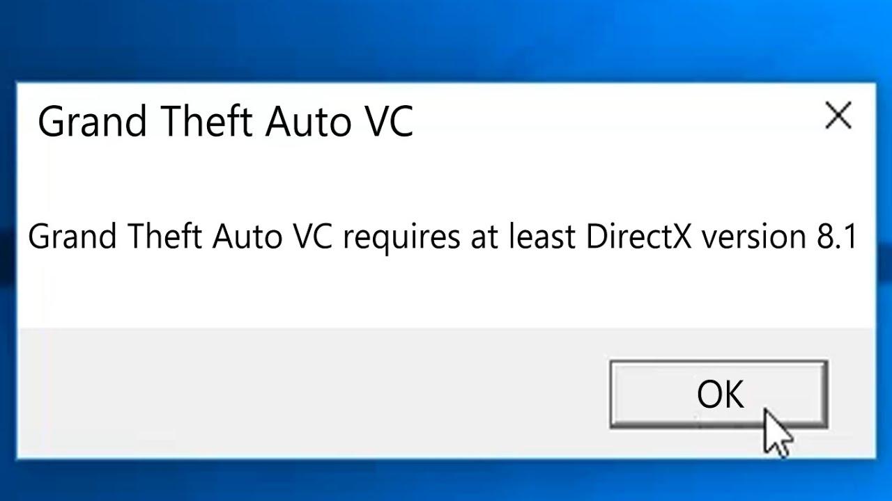 how to install directx 8.1 on windows 10 /// DirectX version 8 1 [Best Solution] OFFLINE // IN HINDI
