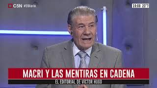 Víctor Hugo Morales : Editorial 05/12/2019