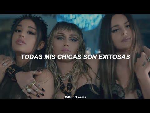 Ariana Grande, Miley Cyrus, Lana Del Rey – Don't Call Me Angel (español + vídeo oficial)