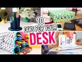 10 DIYs for Your Desk! Back to School Desk Organizers & More! - HGTV Handmade