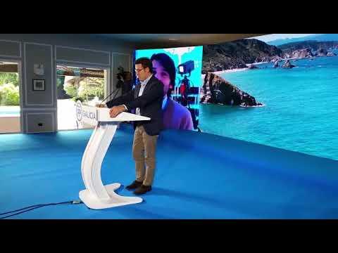 Feijóo recuerda al estradense Pablo Carollo, presidente provincial de Novas Xeracións