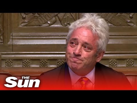 Tearful John Bercow