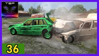 BeamNG drive ► Rapid Taxi Banger ¦ Destruction Derby #36
