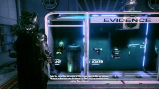 Batman Arkham Knight All Evidence Room Dialogue / All Villain Items