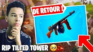 🔴THE VOLCAN A DEEXPLODEED TILTED, THE THOMPSON IS OF RETOUR ON FORTNITE! Creative code: Kenziis