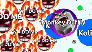 HEY, YOU LOST MASS ( Agar.io Solo Gameplay & Moments )