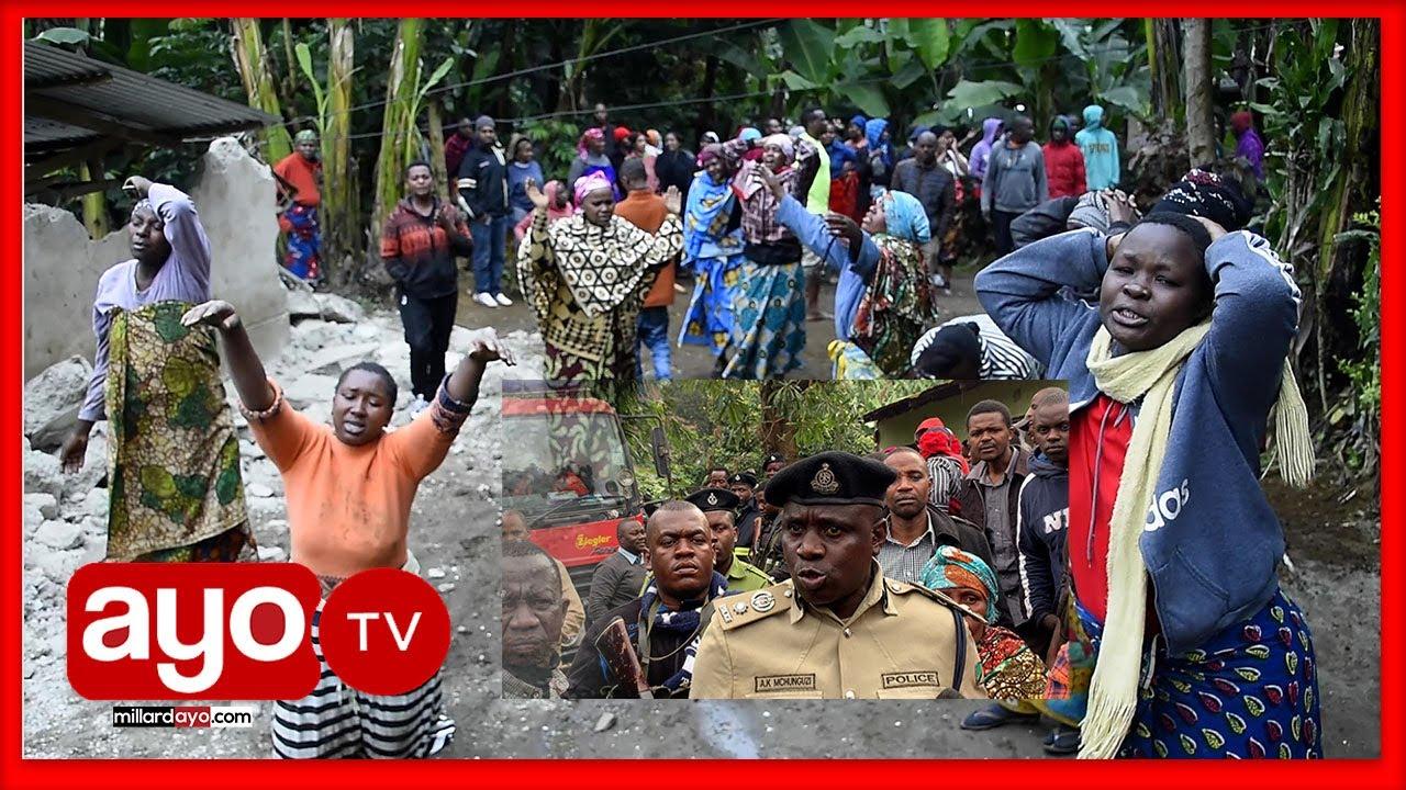 """Download MBUNGE ALAANI KITENDO CHA NYUMBA KUBOMOLEWA, POLISI """"HAITASAIDIA HAIKUHUSU"""""""