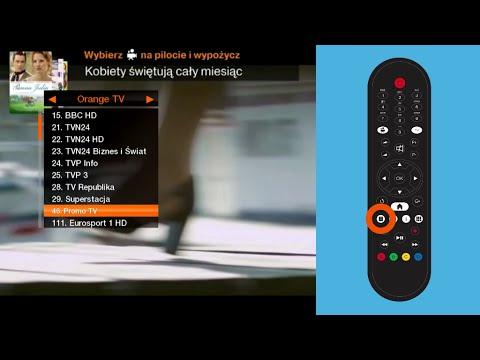 orange ekspert jak utworzy list ulubionych kana w w orange tv youtube. Black Bedroom Furniture Sets. Home Design Ideas