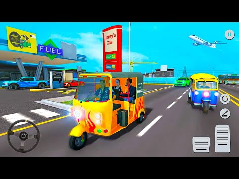 City Tuk-Tuk Driver Simulator – Offroad Auto Rickshaw Game – Android Gameplay