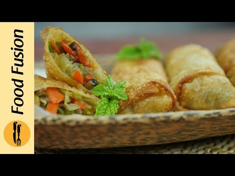 Very Easy Spring Rolls Recipe  - By Food Fusion
