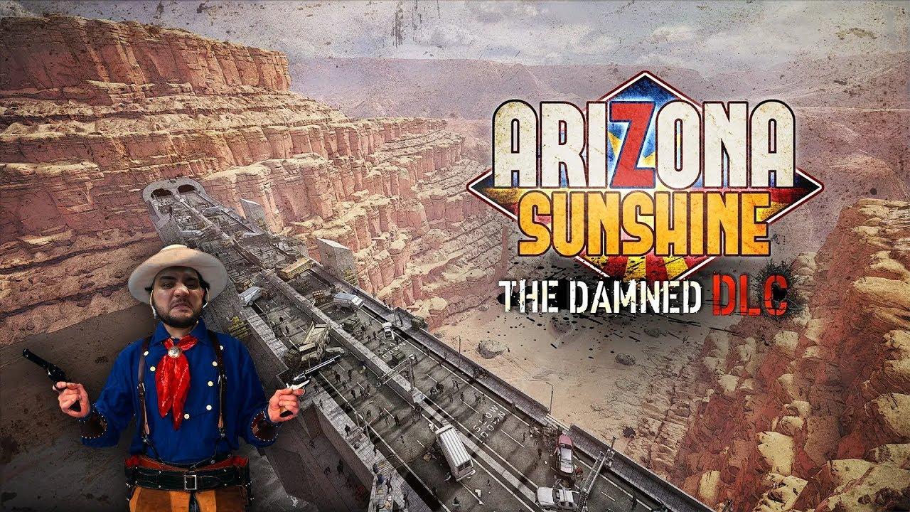 [18+] Шон играет в Arizona Sunshine The Damned DLC (PCVR/VIVE 2016)