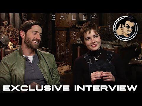 Iddo Goldberg and Elise Eberle   Salem, Season 2 HD 2015