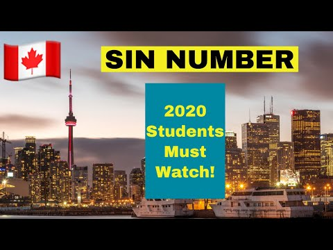 [What Is SIN NUMBER & How To Get A SIN NUMBER]   Indians In Canada 2019  