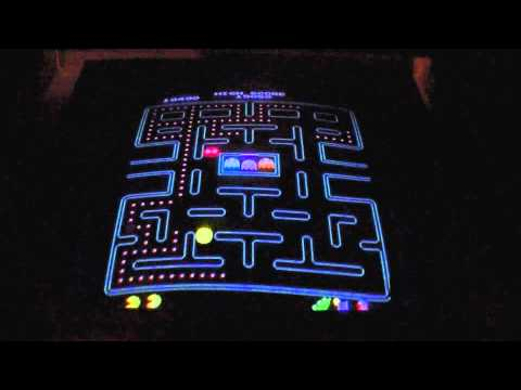 Pacman Plus Played On Arcade Cabinet