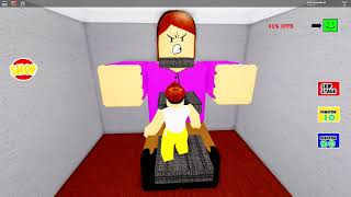 I GOT STUCK IN HER BUTT ON THE ROBLOX!!