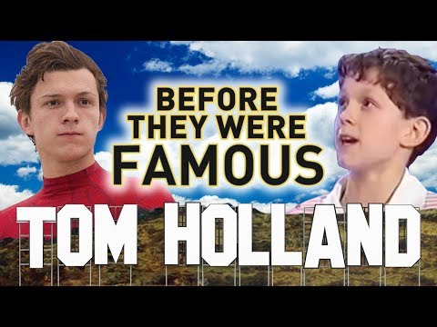 TOM HOLLAND - Before They Were Famous - Spider-Man Homecoming