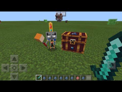 Minecraft Dungeons MOD in Minecraft PE