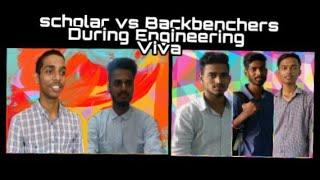 Toppers vs Backbenchers During Engineering Viva