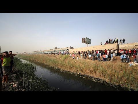 مصر: قتلى ونحو 100 جريح جراء انقلاب عربات قطار في محافظة القليوبية  - نشر قبل 19 دقيقة
