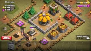 Mein Clash of Clans Dorf Nach 3 Tagen spielen