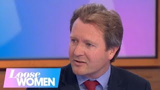 Richard Ratcliffe on His Wife Nazanin's Health as She Is Taken to Hospital | Loose Women