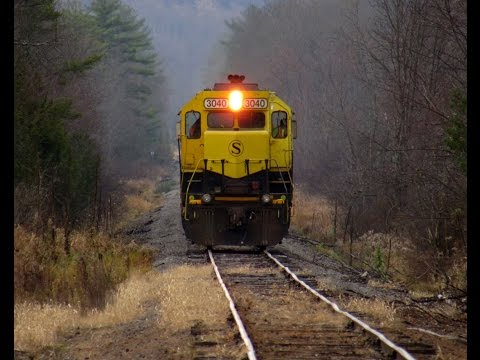 First Train in 6 Years: Sangerfield-Sherburne, NY (NYS&W Utica Line)